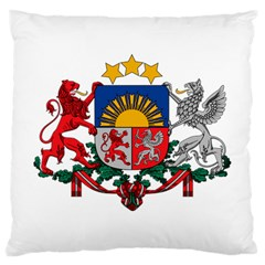 Coat Of Arms Of Latvia Large Cushion Case (two Sides)