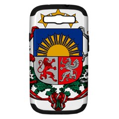 Coat Of Arms Of Latvia Samsung Galaxy S Iii Hardshell Case (pc+silicone)
