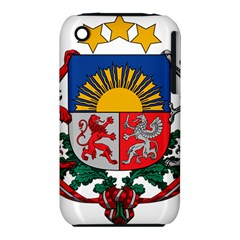 Coat Of Arms Of Latvia Apple Iphone 3g/3gs Hardshell Case (pc+silicone)