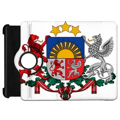 Coat Of Arms Of Latvia Kindle Fire Hd Flip 360 Case