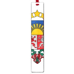 Coat Of Arms Of Latvia Large Book Marks