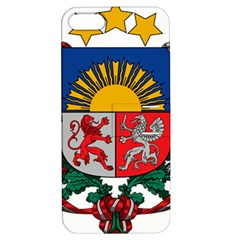 Coat Of Arms Of Latvia Apple Iphone 5 Hardshell Case With Stand
