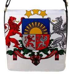 Coat Of Arms Of Latvia Flap Messenger Bag (s)