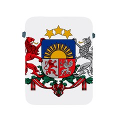Coat Of Arms Of Latvia Apple Ipad 2/3/4 Protective Soft Cases