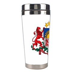 Coat Of Arms Of Latvia Stainless Steel Travel Tumblers