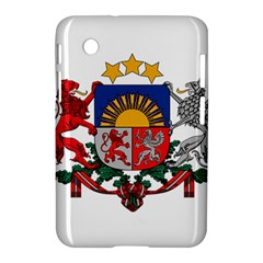 Coat Of Arms Of Latvia Samsung Galaxy Tab 2 (7 ) P3100 Hardshell Case