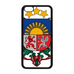 Coat Of Arms Of Latvia Apple Iphone 5c Seamless Case (black)