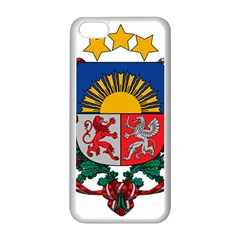 Coat Of Arms Of Latvia Apple Iphone 5c Seamless Case (white)
