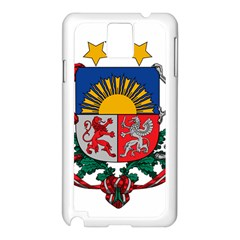 Coat Of Arms Of Latvia Samsung Galaxy Note 3 N9005 Case (white)