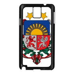 Coat Of Arms Of Latvia Samsung Galaxy Note 3 N9005 Case (black)