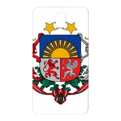 Coat Of Arms Of Latvia Samsung Galaxy Note 3 N9005 Hardshell Back Case