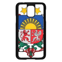 Coat Of Arms Of Latvia Samsung Galaxy S5 Case (black)