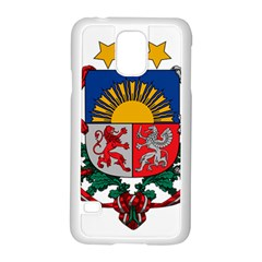 Coat Of Arms Of Latvia Samsung Galaxy S5 Case (white)