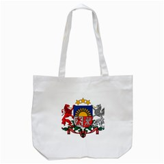 Coat Of Arms Of Latvia Tote Bag (white)