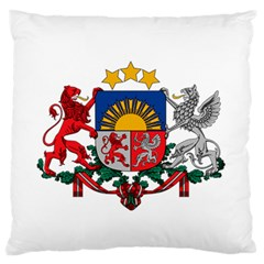 Coat Of Arms Of Latvia Standard Flano Cushion Case (two Sides)