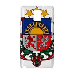 Coat Of Arms Of Latvia Samsung Galaxy Note 4 Hardshell Case