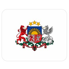 Coat Of Arms Of Latvia Double Sided Flano Blanket (medium)