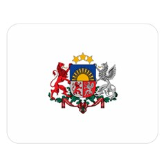 Coat Of Arms Of Latvia Double Sided Flano Blanket (large)