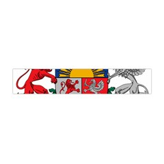 Coat Of Arms Of Latvia Flano Scarf (Mini)
