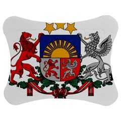 Coat Of Arms Of Latvia Jigsaw Puzzle Photo Stand (bow)