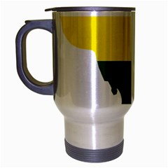 Lgbt Flag Map Of Washington, D C Travel Mug (silver Gray)