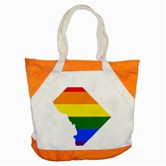 Lgbt Flag Map Of Washington, D C Accent Tote Bag