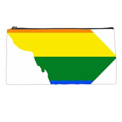 Lgbt Flag Map Of Washington, D C Pencil Cases