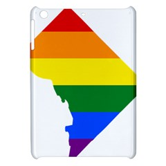 Lgbt Flag Map Of Washington, D C Apple Ipad Mini Hardshell Case