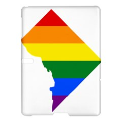 Lgbt Flag Map Of Washington, D C Samsung Galaxy Tab S (10 5 ) Hardshell Case