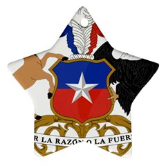 Coat Of Arms Of Chile  Ornament (star)
