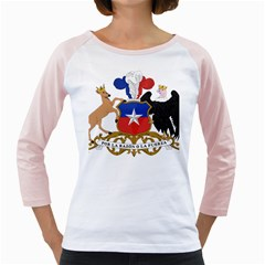 Coat Of Arms Of Chile  Girly Raglans