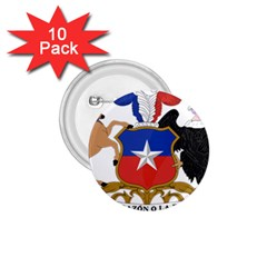Coat Of Arms Of Chile  1 75  Buttons (10 Pack)