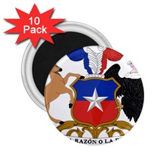 Coat Of Arms Of Chile  2 25  Magnets (10 Pack)