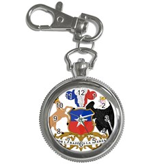 Coat Of Arms Of Chile  Key Chain Watches