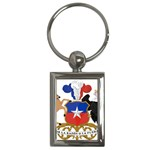 Coat Of Arms Of Chile  Key Chains (Rectangle)  Front