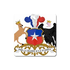 Coat Of Arms Of Chile  Square Magnet