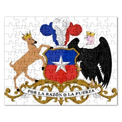 Coat Of Arms Of Chile  Rectangular Jigsaw Puzzl