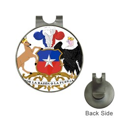 Coat Of Arms Of Chile  Hat Clips With Golf Markers