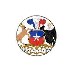 Coat Of Arms Of Chile  Hat Clip Ball Marker (4 Pack)
