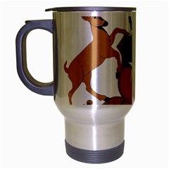 Coat Of Arms Of Chile  Travel Mug (silver Gray)