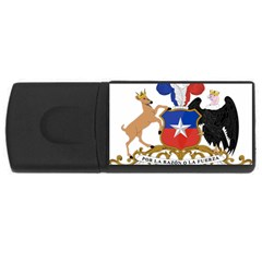 Coat Of Arms Of Chile  Usb Flash Drive Rectangular (4 Gb)