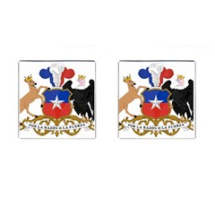 Coat Of Arms Of Chile  Cufflinks (square)