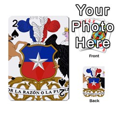 Coat Of Arms Of Chile  Playing Cards 54 Designs