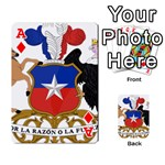Coat Of Arms Of Chile  Playing Cards 54 Designs  Front - DiamondA