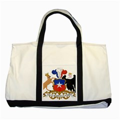Coat Of Arms Of Chile  Two Tone Tote Bag