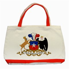 Coat Of Arms Of Chile  Classic Tote Bag (red)