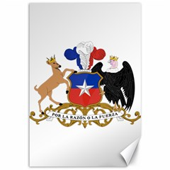 Coat Of Arms Of Chile  Canvas 12  X 18