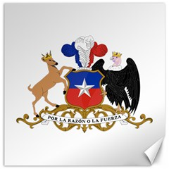 Coat Of Arms Of Chile  Canvas 16  x 16