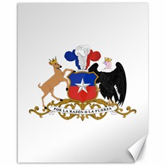 Coat Of Arms Of Chile  Canvas 16  X 20