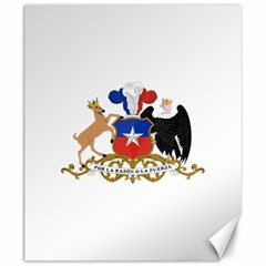 Coat Of Arms Of Chile  Canvas 20  X 24